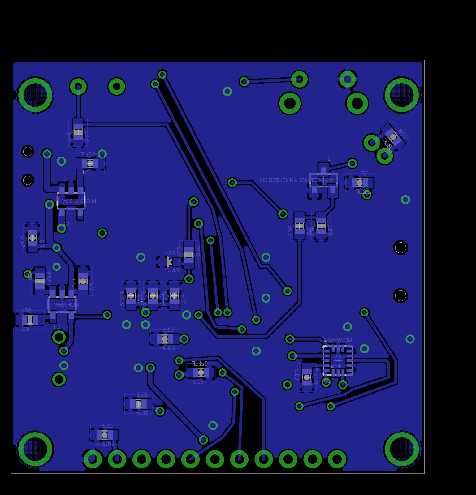 Pcb Design Keith Elliotts Personal Site Circuit Board Articles Rush Blog High Current Designing And Here Are The Fabbed Boards I Ordered Them From Fusion Since They Cheapest Option Could Find Provided A Quantity Of Ten In