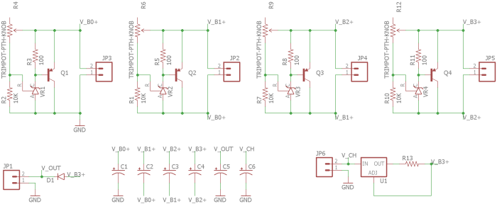 Circuit Design on simple battery charger circuit
